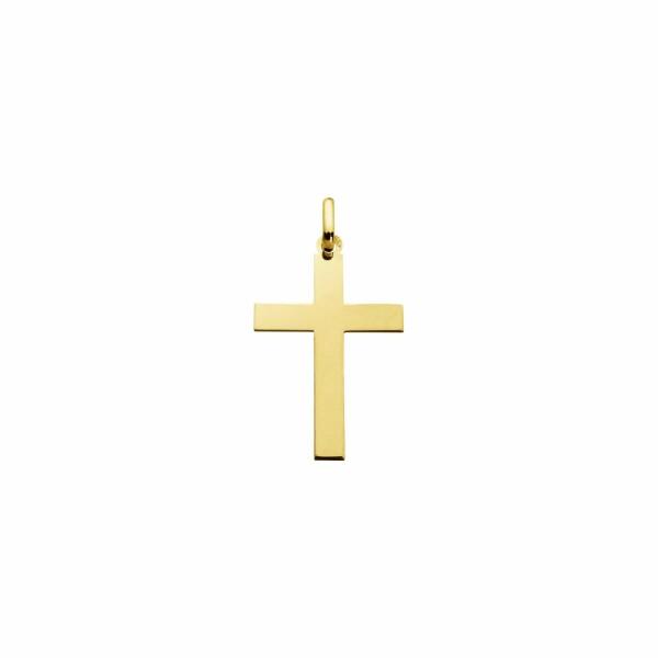 Pendentif Augis Croix en or jaune, 22x15mm