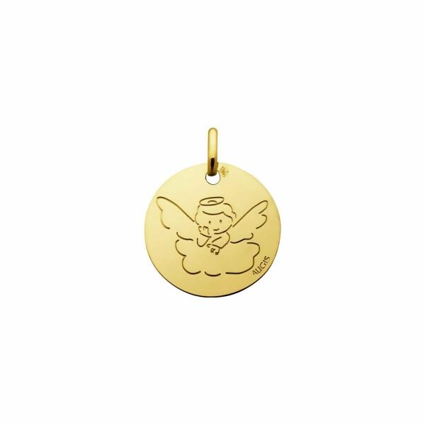 Médaille de baptême Augis Ange en or jaune