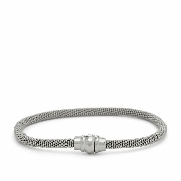 Bracelet FOSSIL en argent