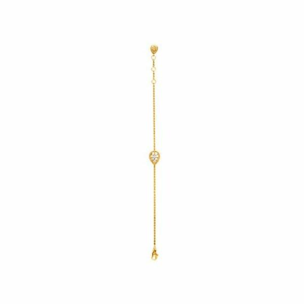Bracelet Boucheron Serpent Bohème en Or jaune et Diamant