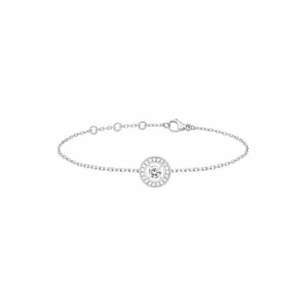 Bracelet Boucheron Ava Rond en or blanc et diamants
