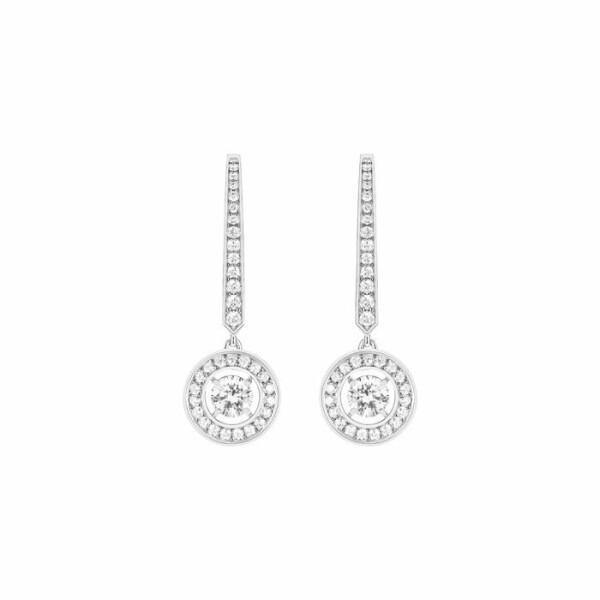 Boucles d'oreilles Boucheron Ava Rond en or blanc et diamants