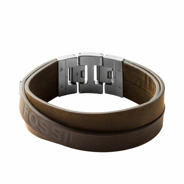 Bracelet FOSSIL en cuir