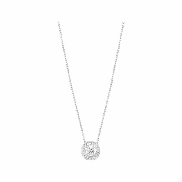 Pendentif Boucheron Ava Rond en or blanc et diamants