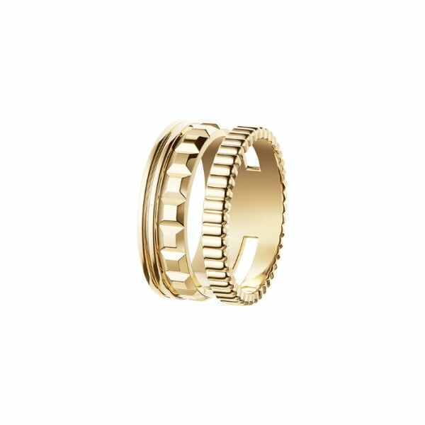 Bague Boucheron Quatre Radiant Edition en or jaune