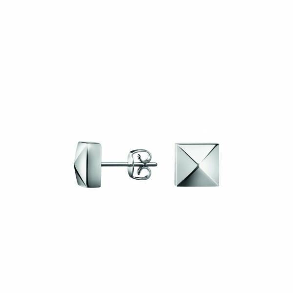 Boucles d'oreilles Calvin Klein Edge en acier