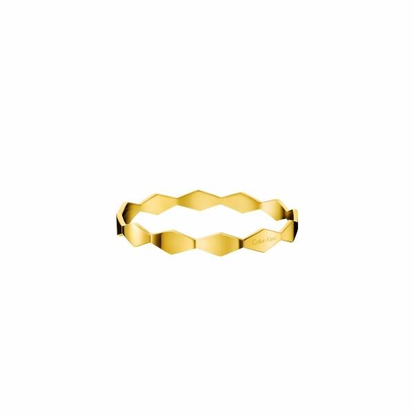 Bracelet Calvin Klein Snake en plaqué or rose, taille S