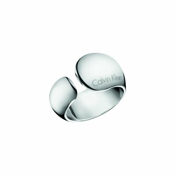 Bague Calvin Klein Informal en acier, taille 57-58