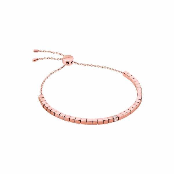 Bracelet Calvin Klein Tune en plaqué or rose et cristal