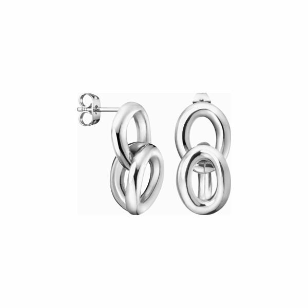 Boucles d'oreilles Calvin Klein en acier