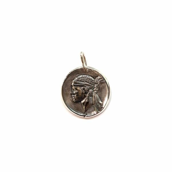 Médaille Corse Mariotti Kallisté GM en argent, 25mm