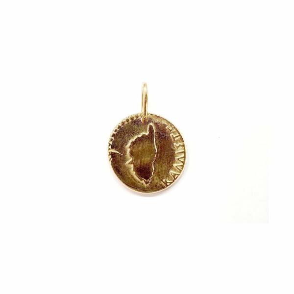Médaille Corse Mariotti Kallisté MM en or jaune, 22mm