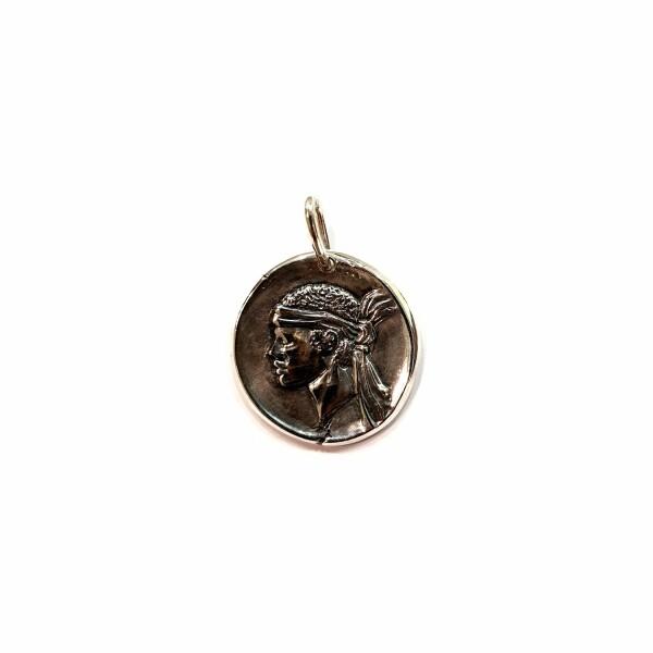 Médaille Corse Mariotti Kallisté MM en argent, 22mm