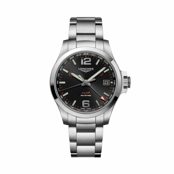 Montre Longines Conquest V.H.P. GMT L3.718.4.56.6