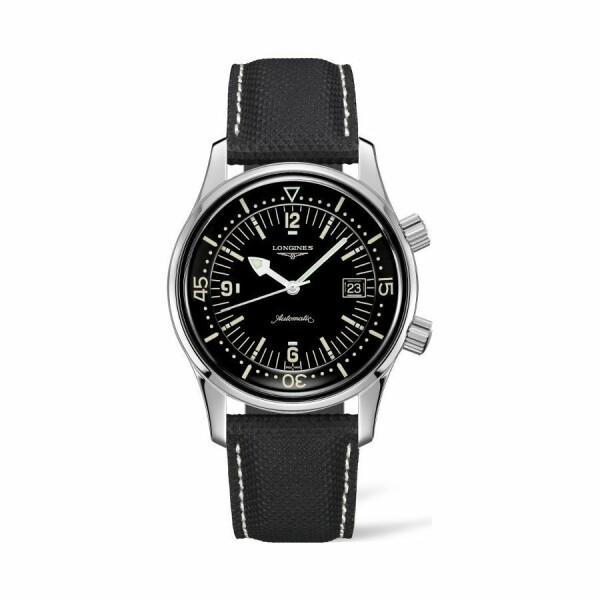 Montre Longines Heritage Legend Diver L3.774.4.50.0