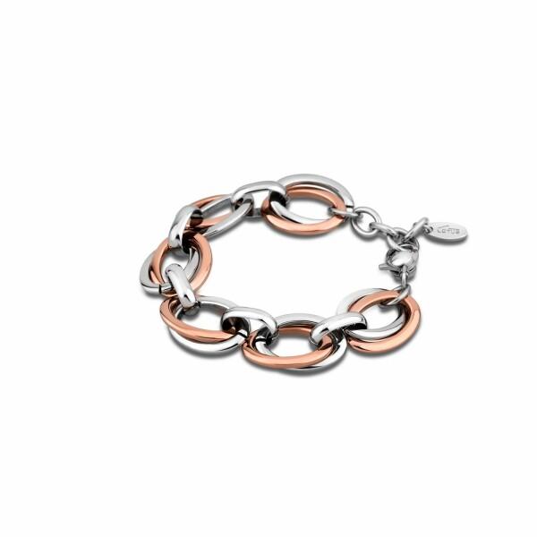 Bracelet Lotus Style Urban Woman en acier