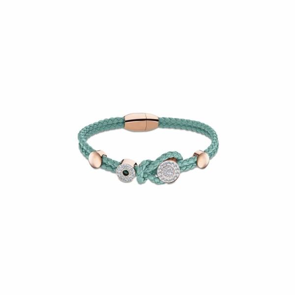 Bracelet Lotus Style Urban Woman en textile
