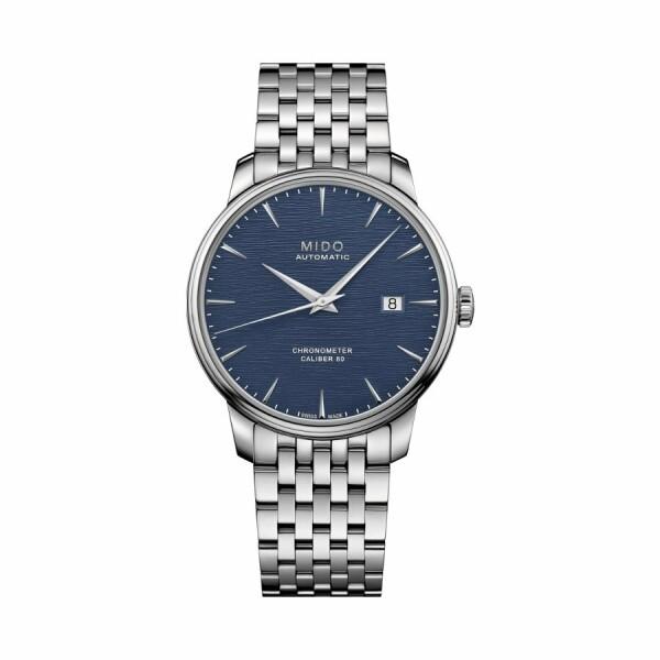 Montre Mido Baroncelli Chronometer Silicium M027.408.11.041.00