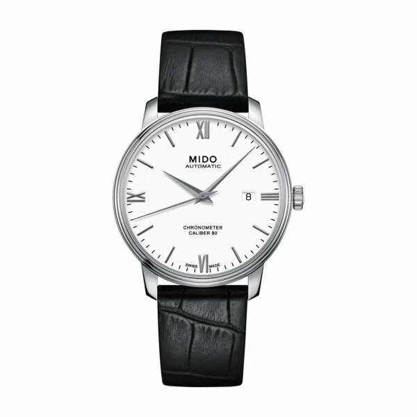 Montre Mido Baroncelli Chronometer Silicium M027.408.16.018.00
