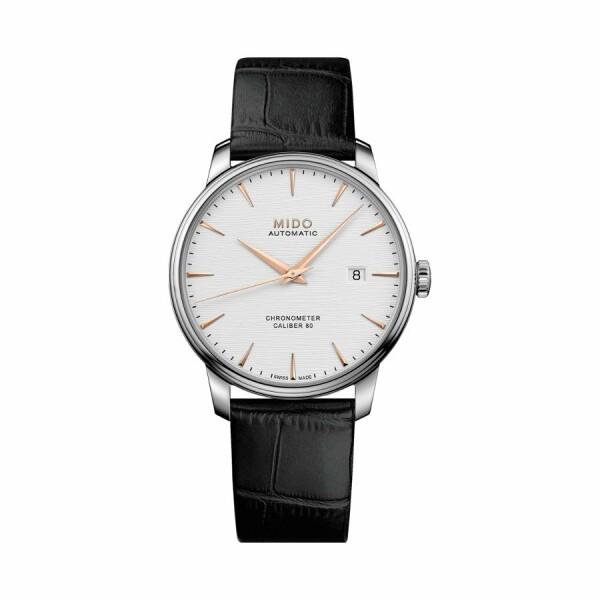 Montre Mido Baroncelli Chronometer Silicium M027.408.16.031.00