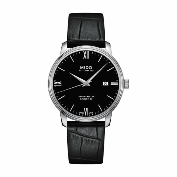 Montre Mido Baroncelli Chronometer Silicium M027.408.16.058.00
