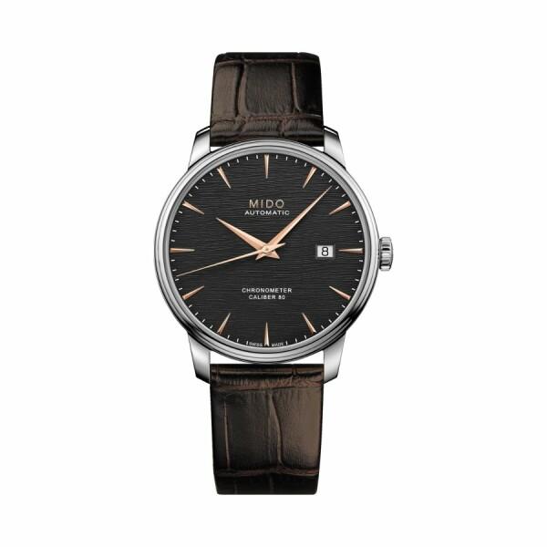 Montre Mido Baroncelli Chronometer Silicium M027.408.16.061.00