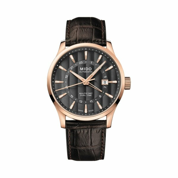 Montre Mido Multifort Dual Time M038.429.36.061.00