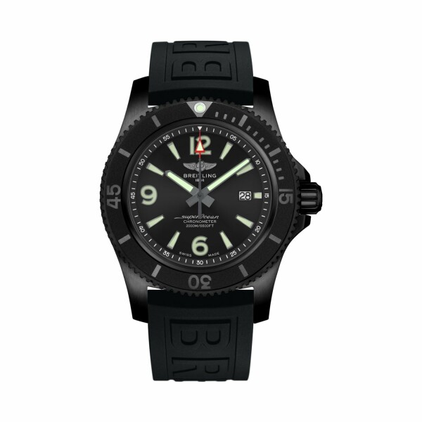 Montre Breitling Superocean II Automatic 46 Blacksteel