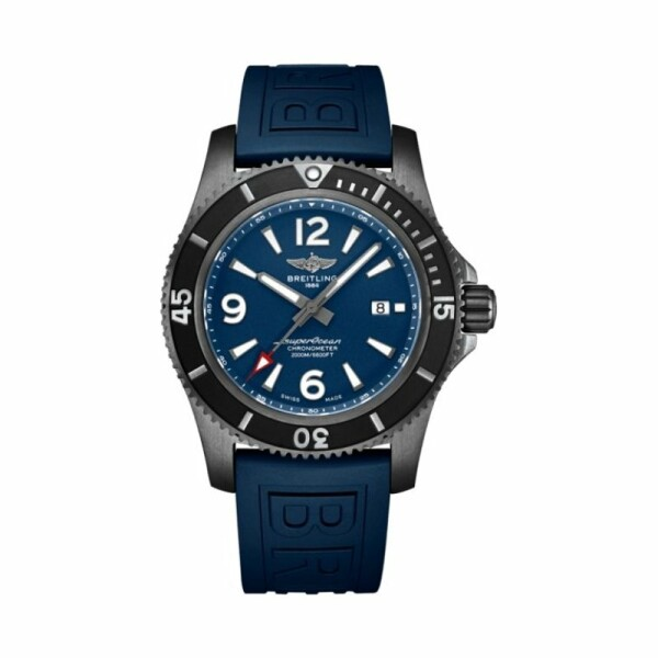 Montre Breitling Superocean Automatic 46 Black Steel
