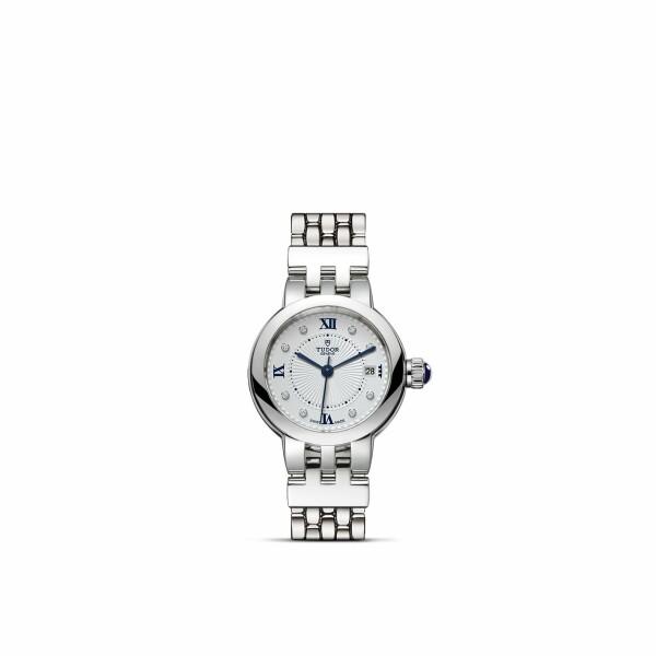 Montre TUDOR Clair de Rose boîtier en acier, 26mm, bracelet en acier