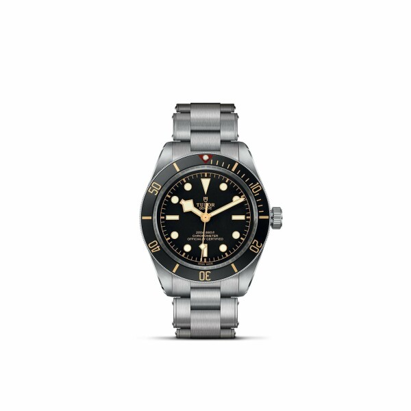 Montre TUDOR Black Bay Fifty-Eight boîtier en acier, 39mm, bracelet en acier