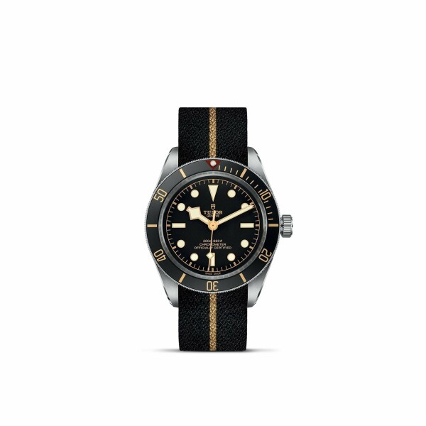 Montre TUDOR Black Bay Fifty-Eight boîtier en acier, 39mm, bracelet en tissu