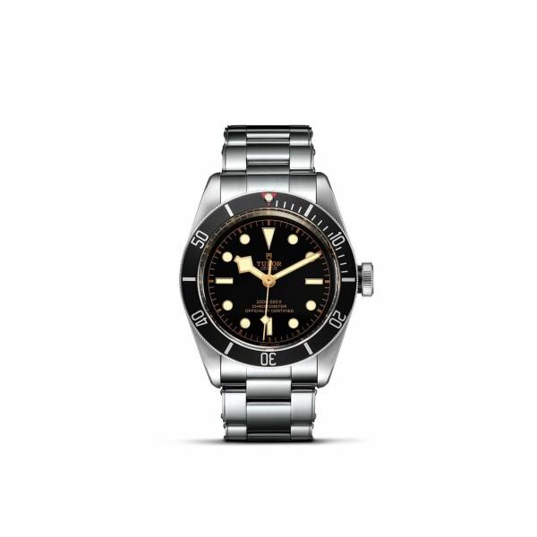 Montre TUDOR Black Bay boîtier en acier, 41mm, bracelet en acier riveté