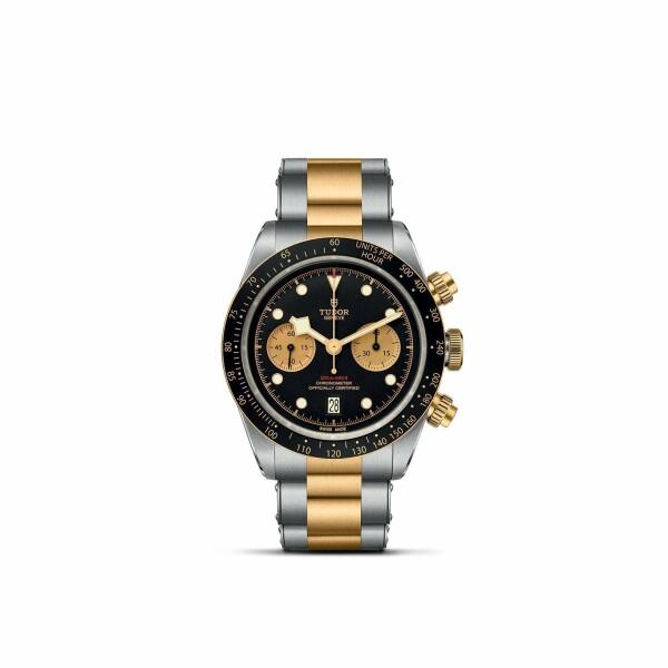 Montre TUDOR Black Bay Chrono S&G boîtier en acier, 41mm, bracelet en acier et or