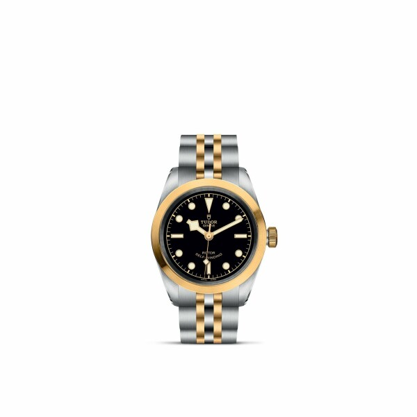 Montre TUDOR Black Bay 32 S&G boîtier en acier, 32mm, bracelet en acier et or