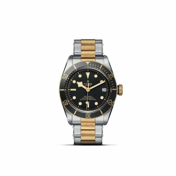 Montre TUDOR Black Bay S&G boîtier en acier, 41mm, bracelet en acier et or jaune