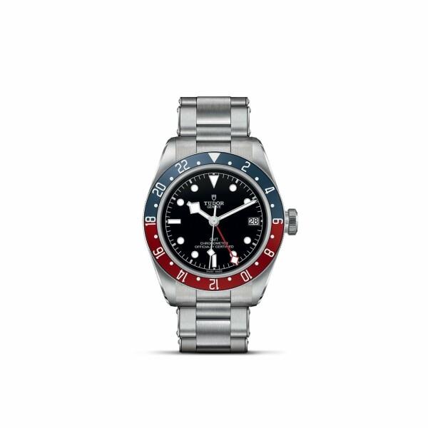 Montre TUDOR Black Bay GMT boîtier en acier, 41mm, bracelet en acier