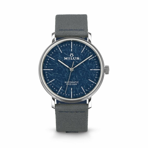 Montre Milus Lab 01 Blue MIL.010.01.003