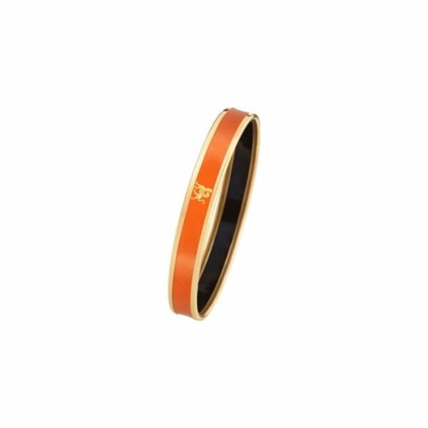 Bracelet FREY WILLE Monochrome Mademoiselle en email plaqué or jaune, taille M