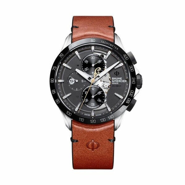 Montre Baume & Mercier Clifton Club édition limitée Indian Motorcycle