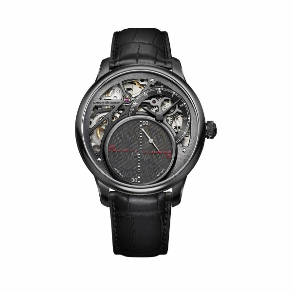 Montre Maurice Lacroix Masterpiece Mysterious Second MP6558-PVB01-092-1
