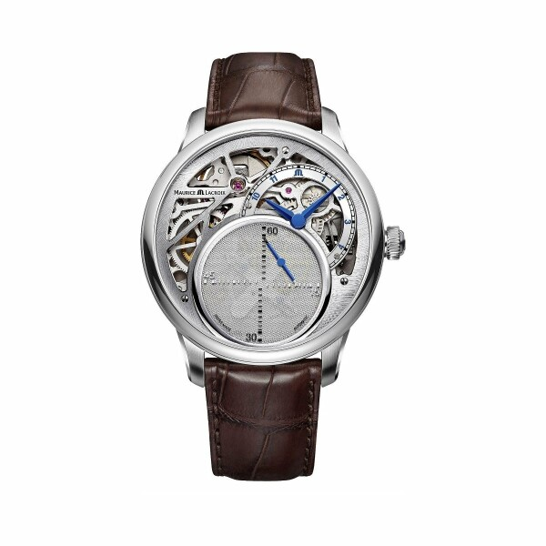 Montre Maurice Lacroix Masterpiece Mysterious Second MP6558-SS001-096-1