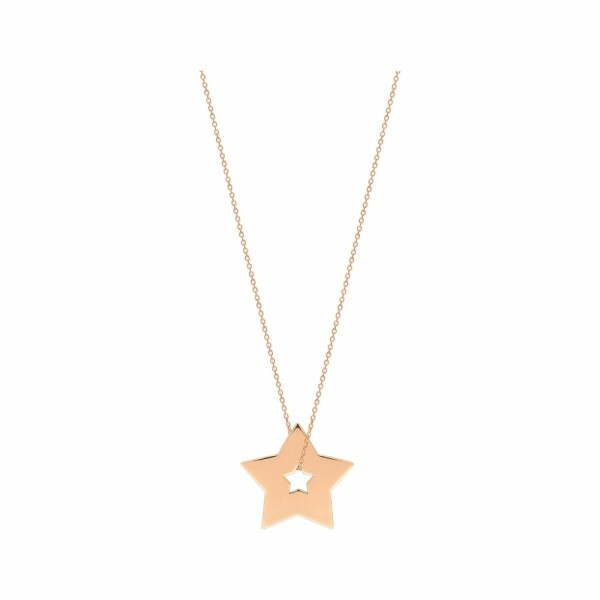 Collier GINETTE NY MILKY WAY en or rose