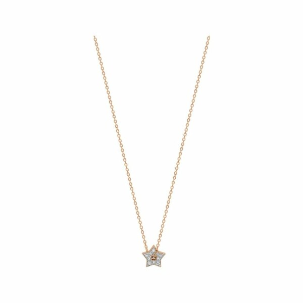 Collier GINETTE NY MILKY WAY en or blanc et diamants