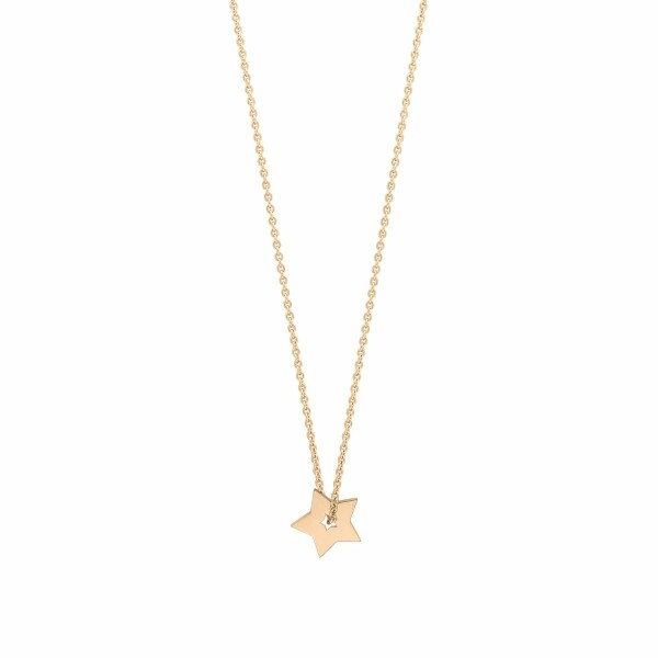 Collier GINETTE NY MINIS ON CHAIN en or rose