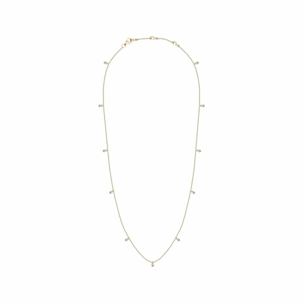 Collier Djula Pampilles 13 en or jaune et diamants