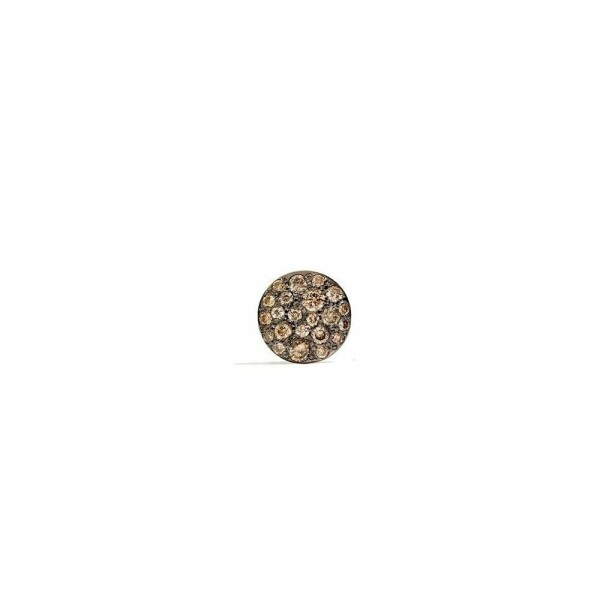 Boucles d'oreilles Pomellato Sabbia en Or rose et Diamant brun