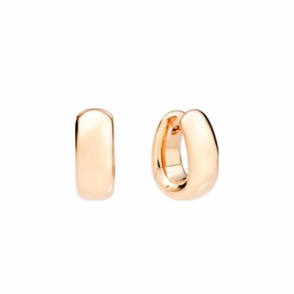 Boucles d'oreilles Pomellato Iconica en or rose