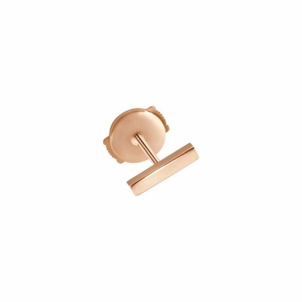 Mono boucle d'oreille Vanrycke Medellin en or rose, taille S