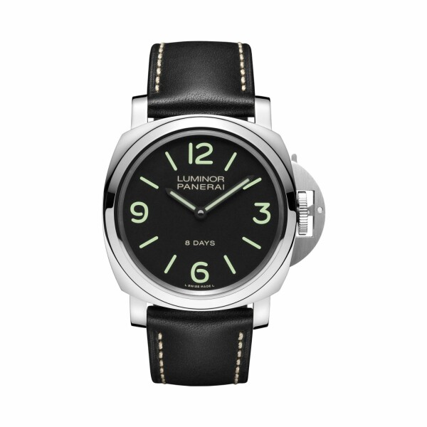 Montre Panerai Luminor Base 8 Days Acciaio - 44mm